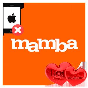 Удаление аккаунта Mamba с Айфона
