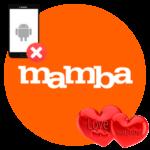 Удаление аккаунта Mamba с телефона