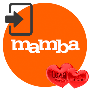 Вход на страницу в Mamba