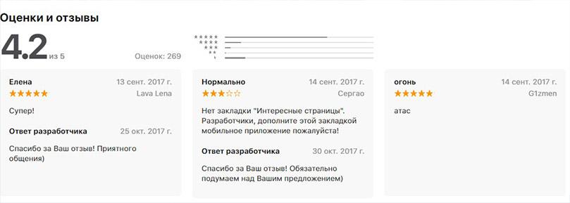 отзывы о фотостране с app store