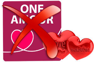 Как удалить анкету с сайта знакомств oneamour