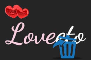 Как удалить профиль с сайта Loveeto?